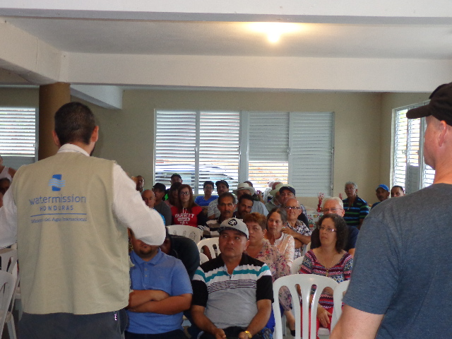 Community meetings are the first step in deciding if a solar installation is a viable option.