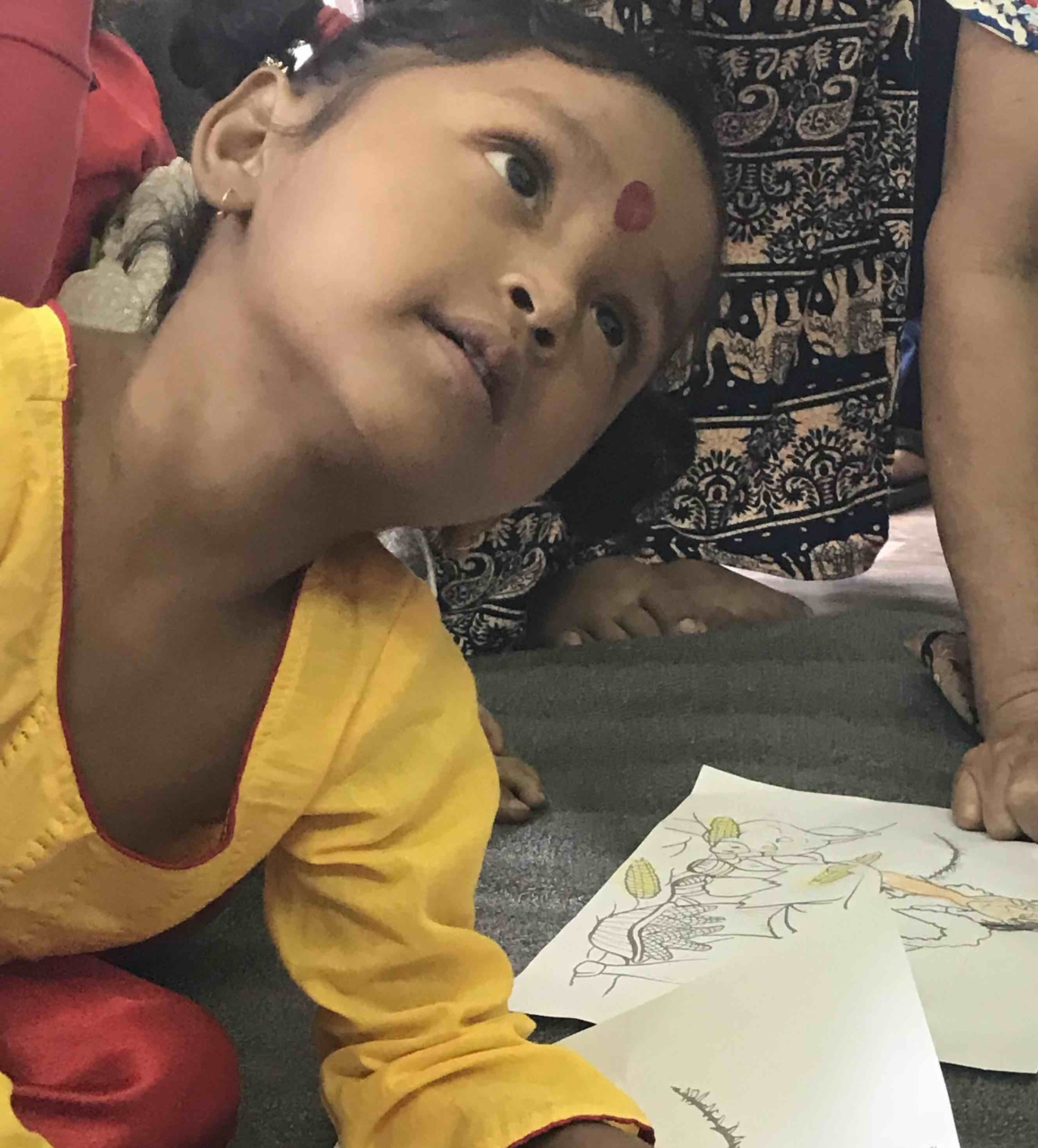 In Pokhara, the team visited children at the newly established Joyland Kindergarten. The team has formed an Action Team to help the founders of this school in their early efforts.