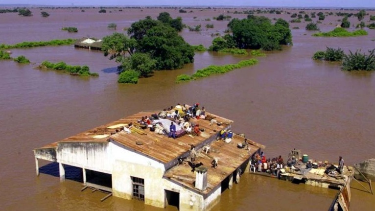 Two powerful cyclones have devastated the southeastern coast of Africa.