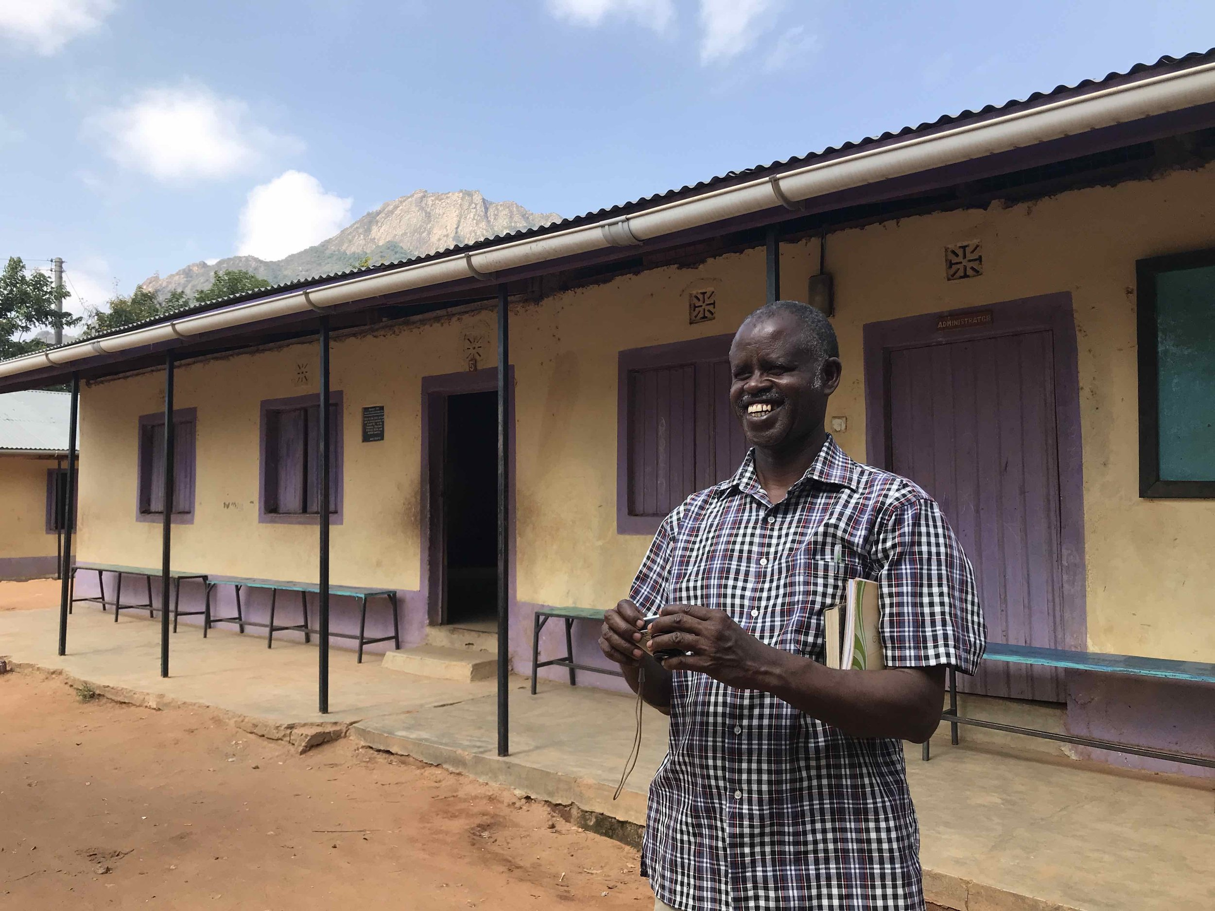 The Rev. Joseph Kesho is the Secretary of Education for the Diocese of Marsabit.
