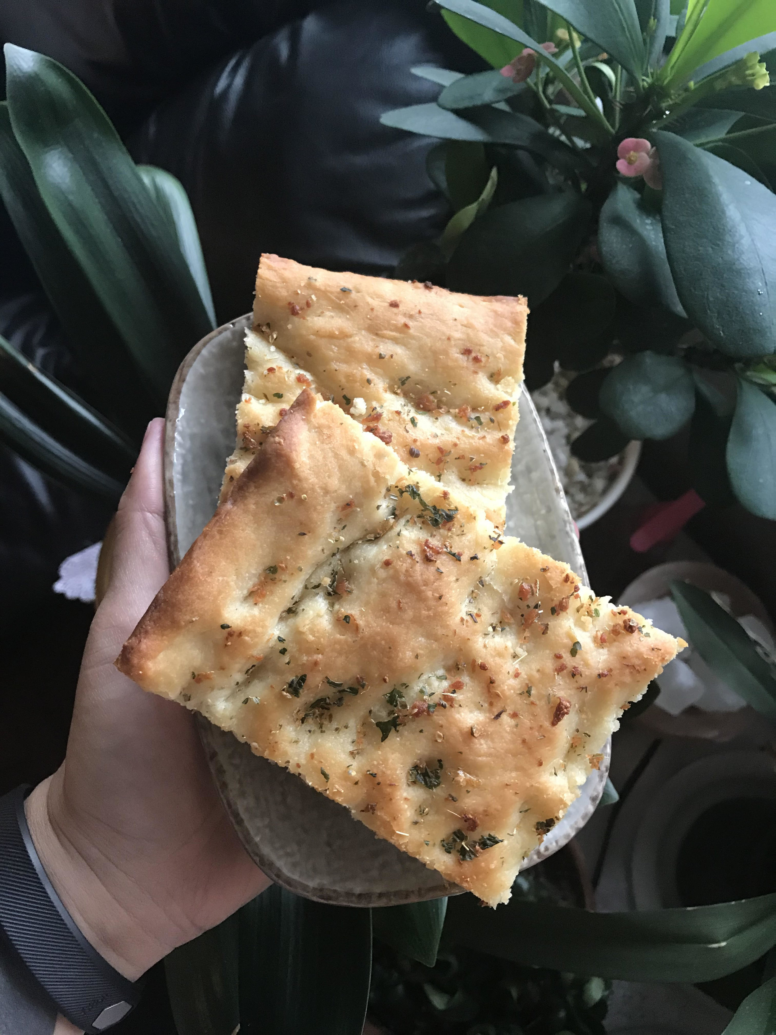 You don't have to use the herbs I listed if you don't want to! You can try Rosemary, or herbless! You can also slice this into breadsticks and dip into marinara.