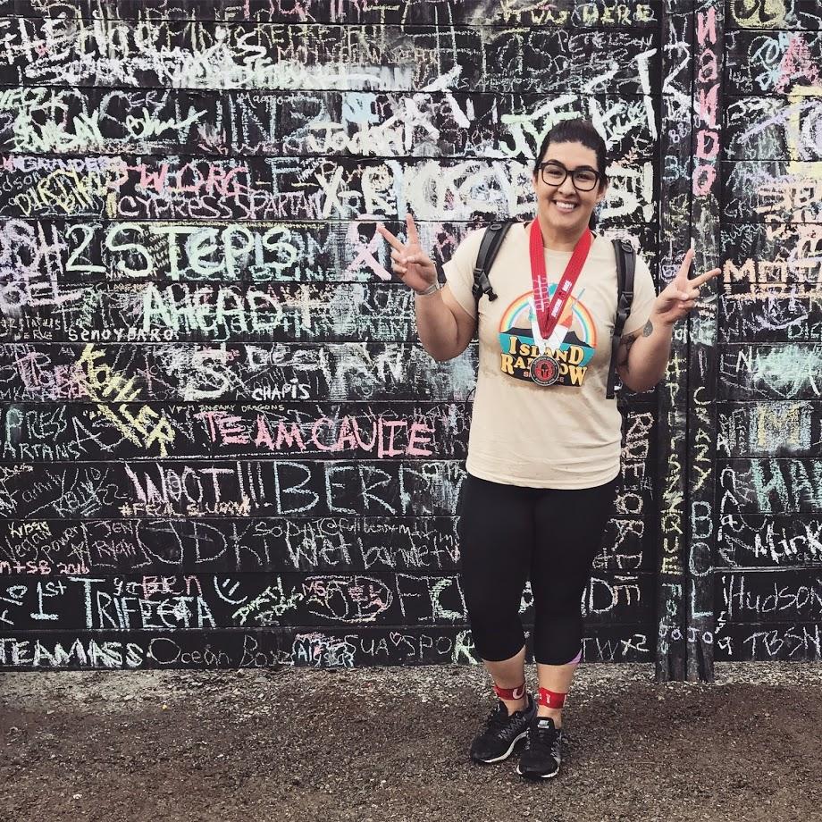 After my first OCR (Spartan Sprint) in 2016, Seattle, Washington.