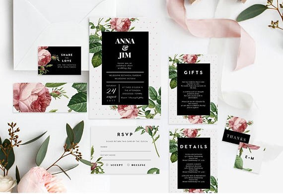 The Perfect Wedding Invitation - From dates to location to gift list, let everyone know the details in style.Browse our Stunning Collection:Shop Wedding InvitationsShop RSVP CardsShop Details Cards