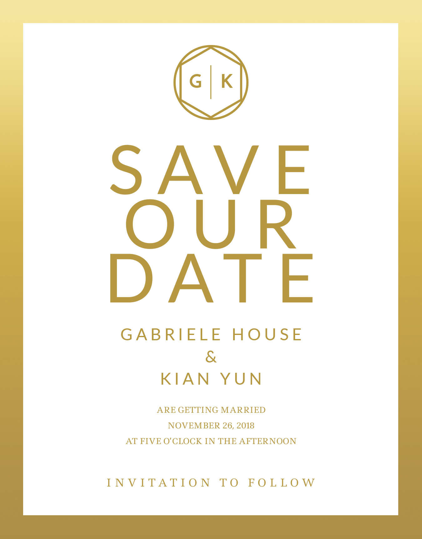 All Save The Date