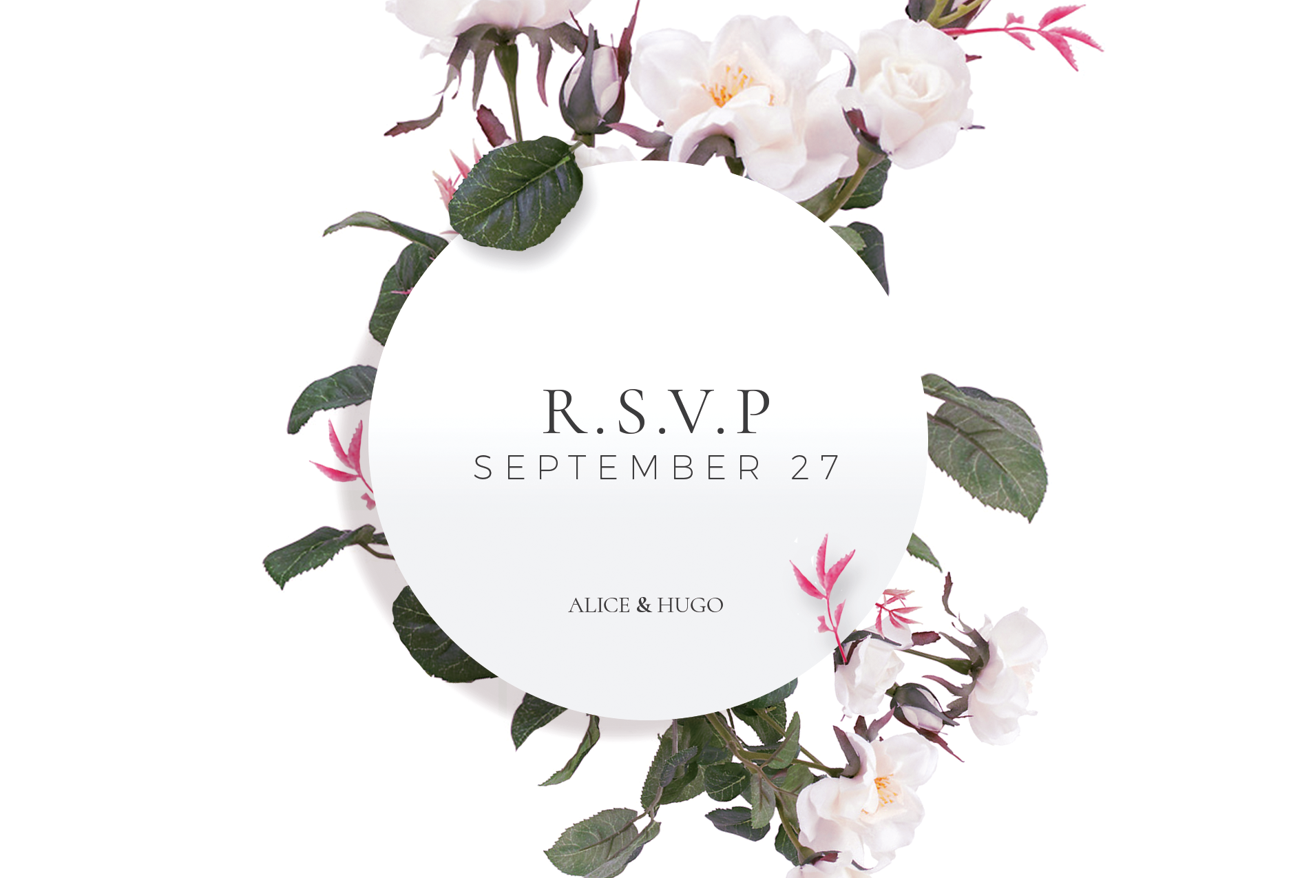 Purity - RSVP Cards