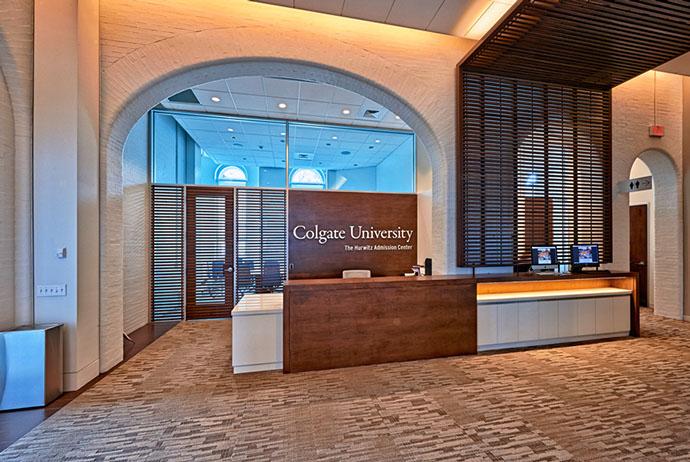 Colgate University Admissions Building
