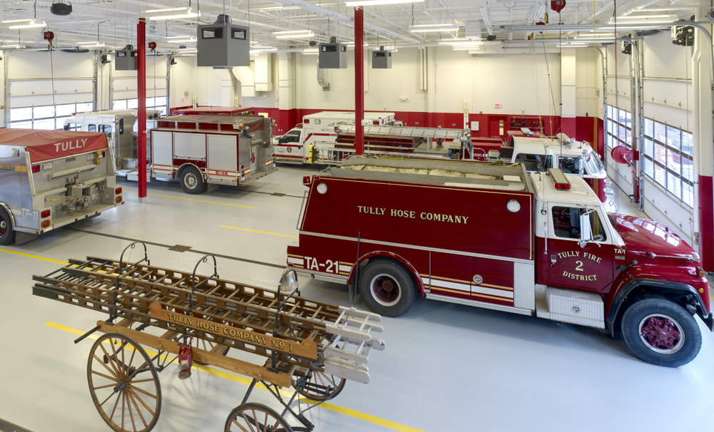 Tully Fire Station