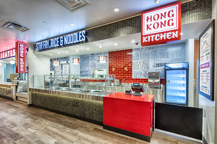 The Food Hall at Turning Stone Resort Casino