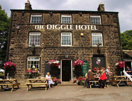 """""""Its not a race….but its no piece of cake"""" The Diggle Hotel"""