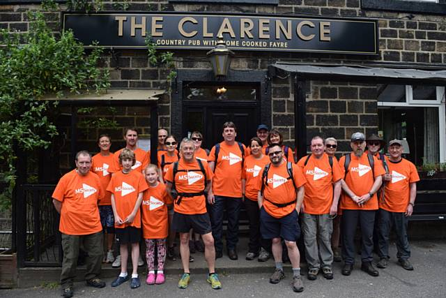 A UCrew training day for a charity mountain challenge