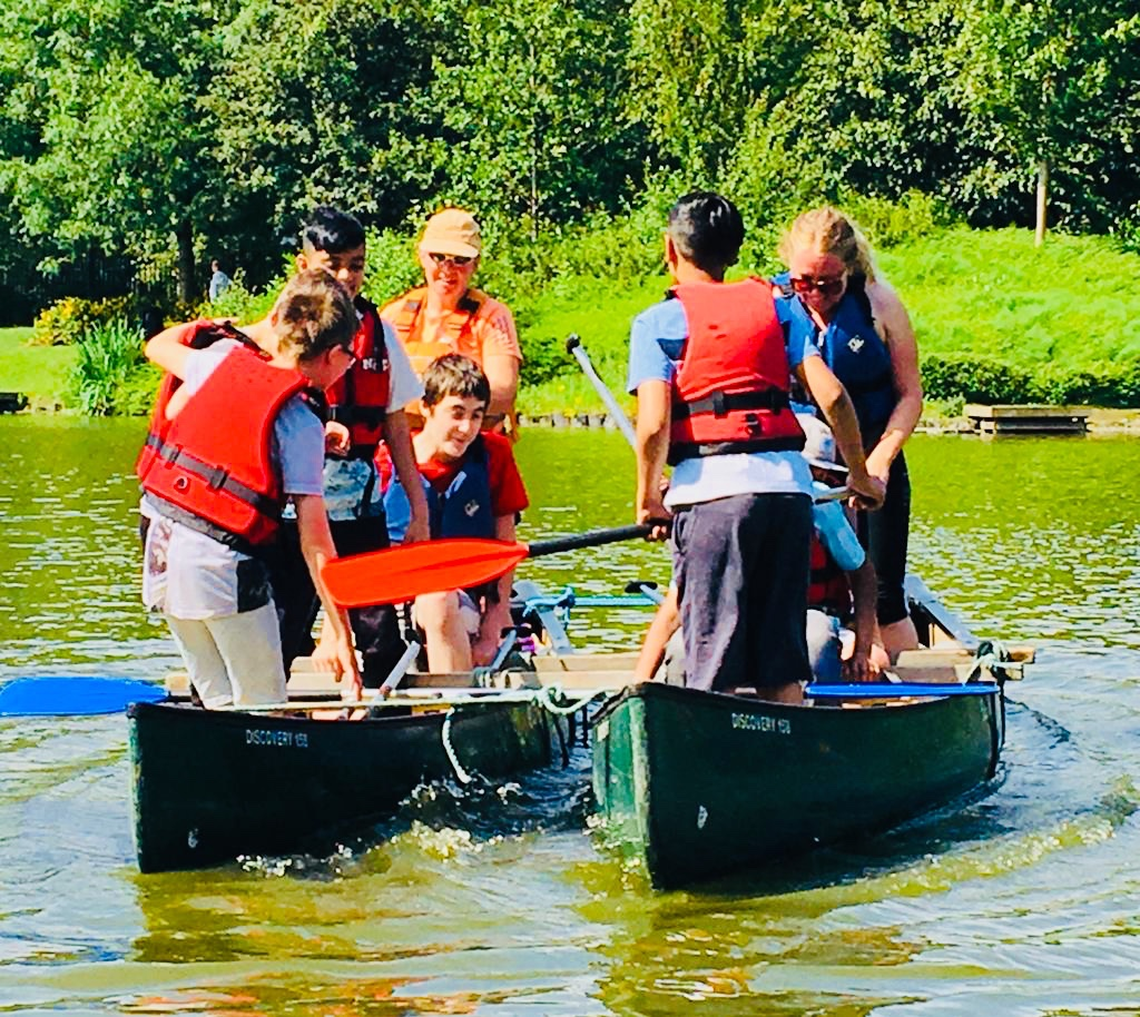 Canoeing with Clare from Alternative Adventure