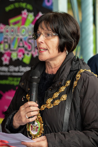 The Mayor of Oldham Councillor Ginny Alexander