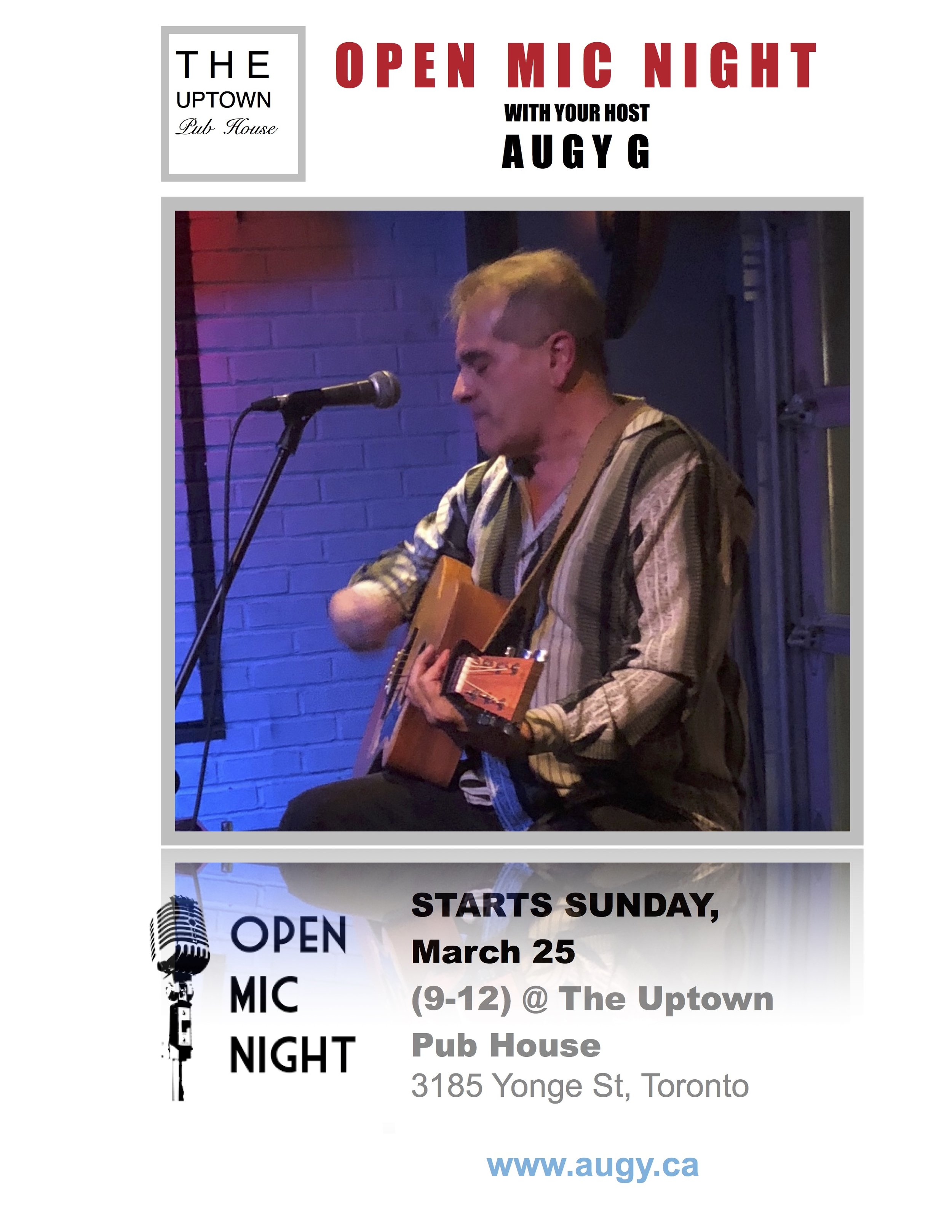 OPEN MIC NIGHT with your host Augy G.jpg