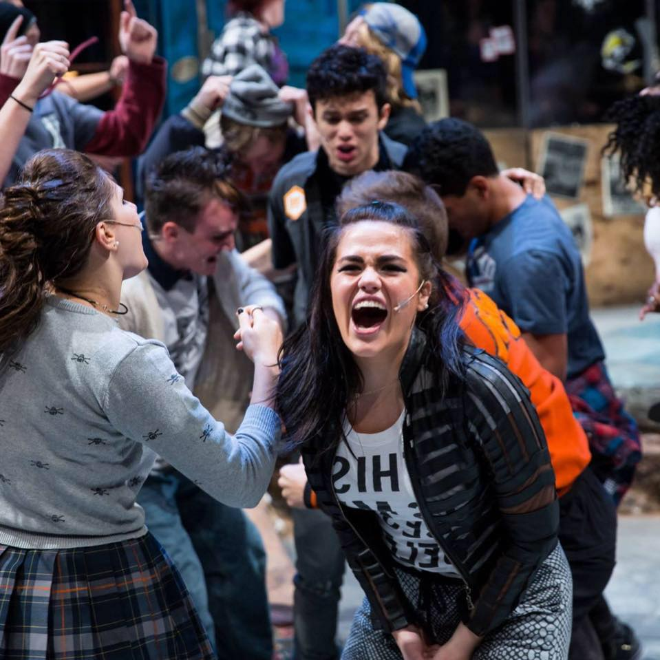 Northwestern University,  Green Day's American Idiot . Photo: Justin Barbin Photography.
