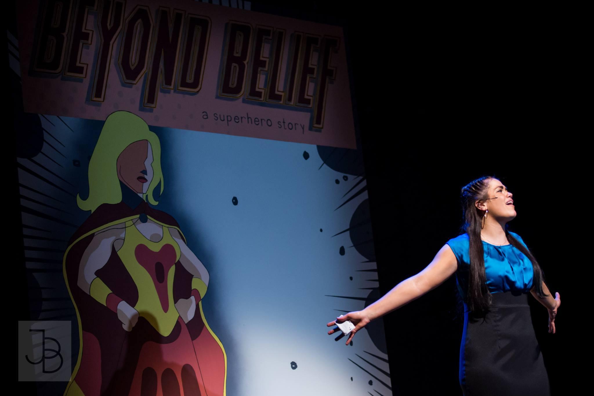 "87th Annual Waa-Mu Show: ""Beyond Belief"" A Superhero Story."" Photo: Justin Barbin Photography"