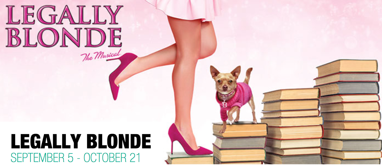 Next up! Legally Blonde:The Musical! - Omigod! Lucy can be seen as Serena in the Paramount Theatre's production of Legally Blonde! Click here for more info!