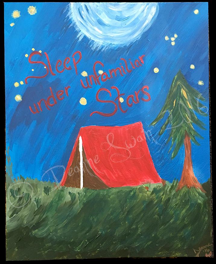 Sleep Under Unfamiliar Stars