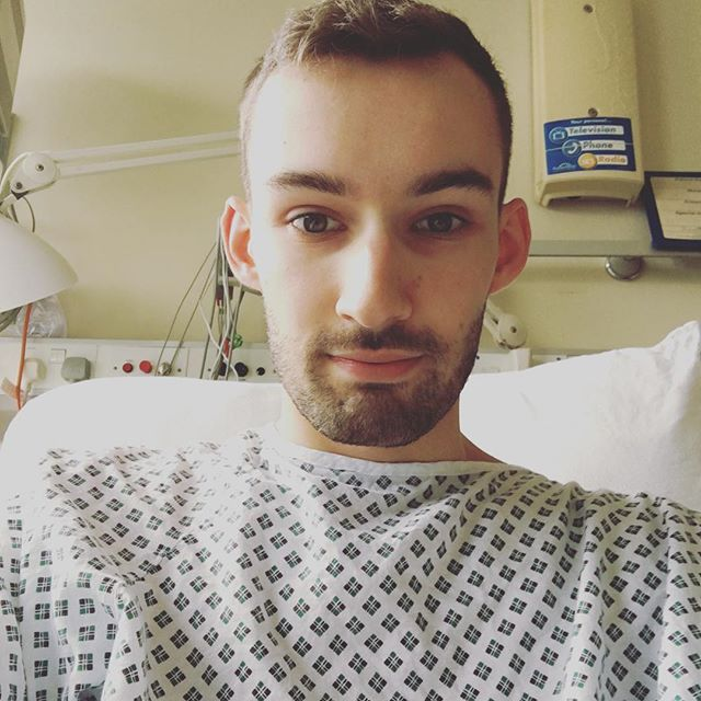 This photo was taken on the morning of my operation -  I'm not going to post before/after pictures just yet, but I will be making a video on my YouTube channel at some point, so they'll probably be included in that.