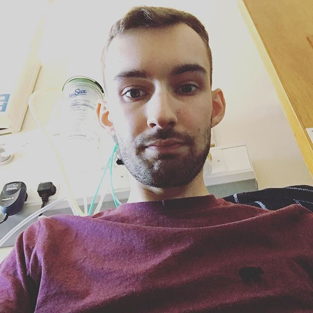 This photo was taken within the few days following my operation -   I'm not going to post before/after pictures just yet, but I will be making a video on my YouTube channel at some point, so they'll probably be included.