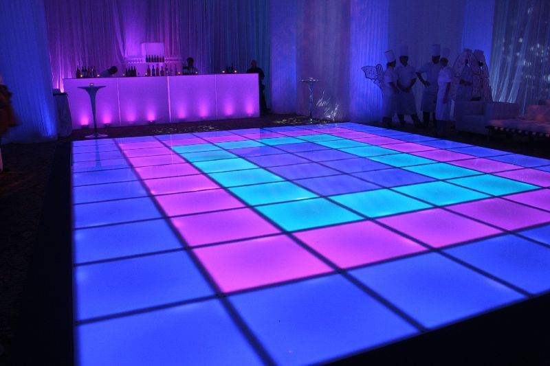 Light Up Dance Floor