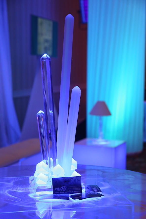 "Ice Magic ""Kryptonite"" Centerpiece"