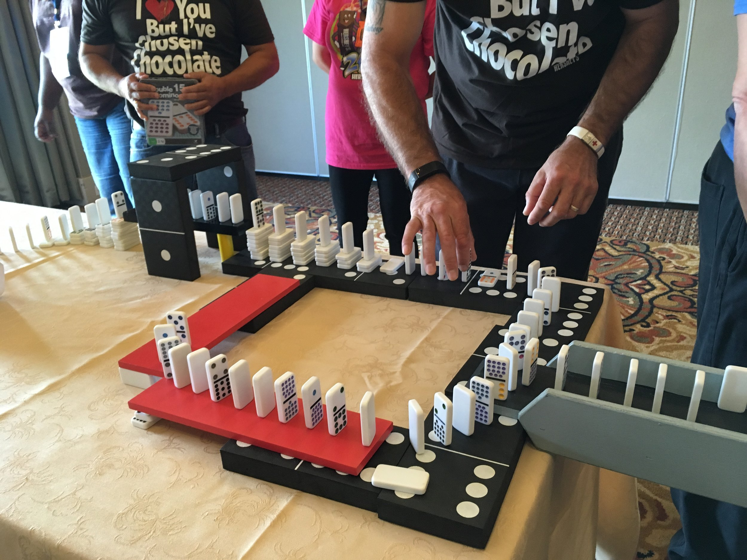 Domino Effect Team Building