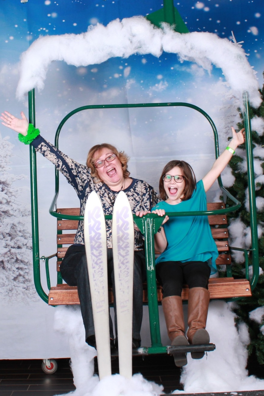Chair Lift Photos - Climb on our ski lift chair and enjoy the ride!