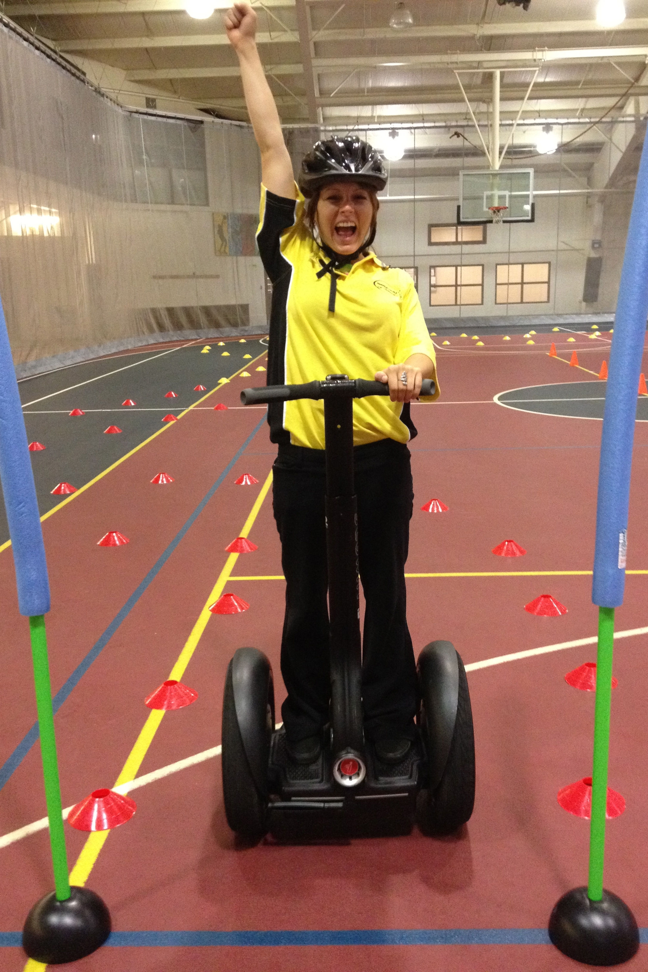 Segway Obstacle Course - Skill, balance, strategy and memory are all challenged simultaneously in this exciting quest. After a brief safety lesson on the Segway PT®, each participant will navigate through an obstacle course testing their skills. The course will focus more on agility and the ability to remember the correct path rather than speed. The event can be tailored to fit your specific needs and can be set up either indoors or outdoors.