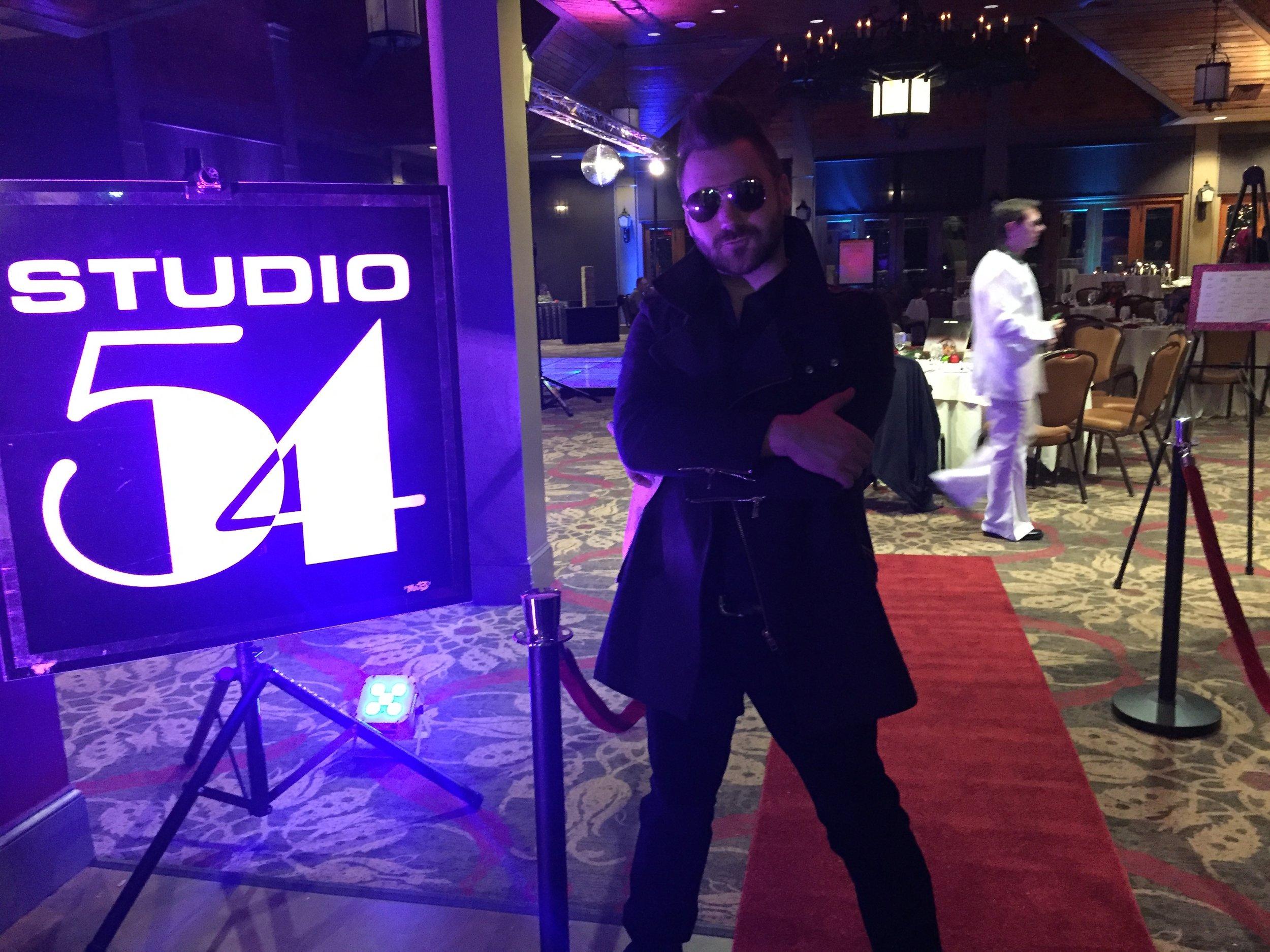 Studio 54 Theme Party