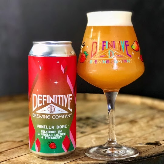 Vanilla Dome (Strawberry) - Milkshake Double IPA