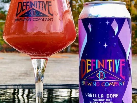 Vanilla Dome (Blackberrys & Raspberries)- Milkshake Double IPA