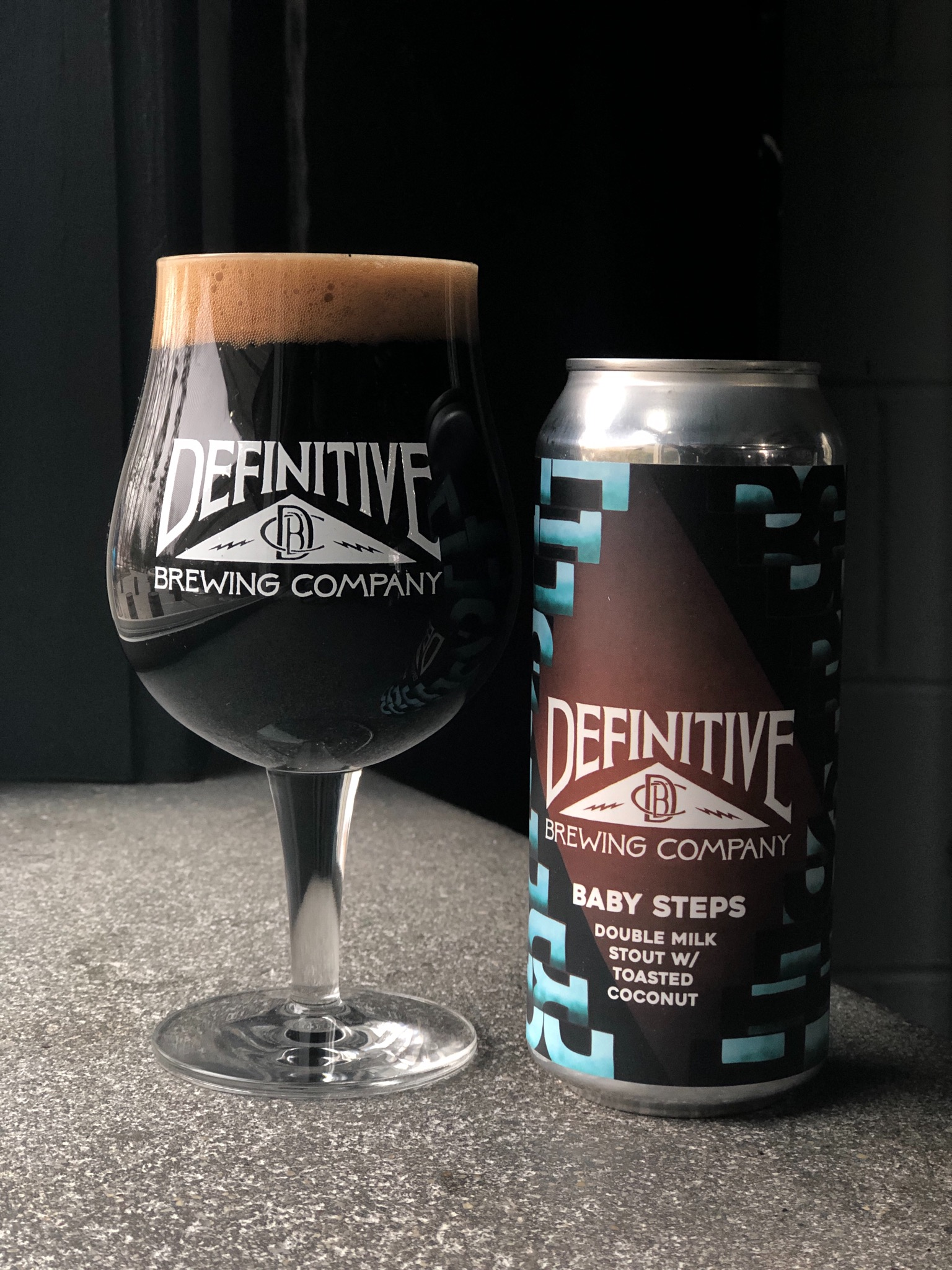 Baby Steps - Double Milk Stout w/ Toasted Coconut