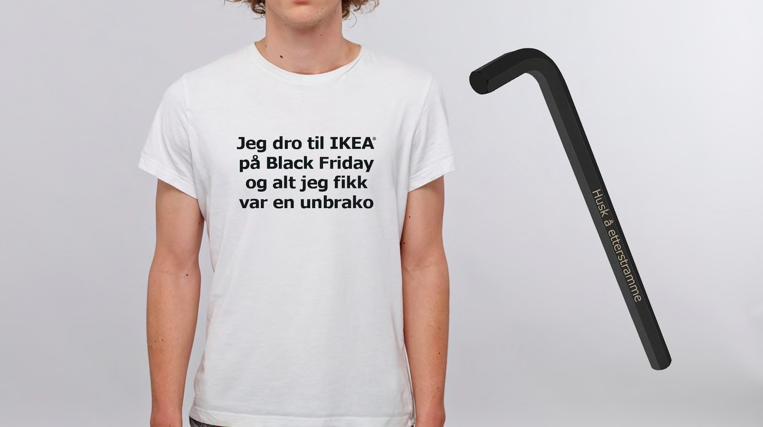 Etter noen års deltagelse på Black Friday tok IKEA i 2017 avstand og arrangerte Strammedagen.