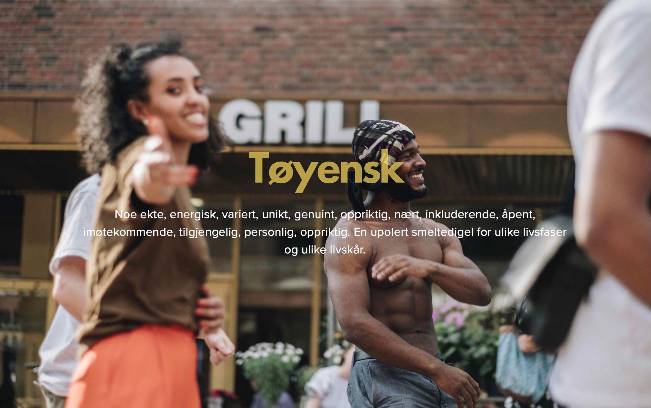 Denne uken kom  hjemmesiden for Tøyen Torg  på plass, som skisserer litt av hva som er tenkt fremover. Foto: Ola Vatn