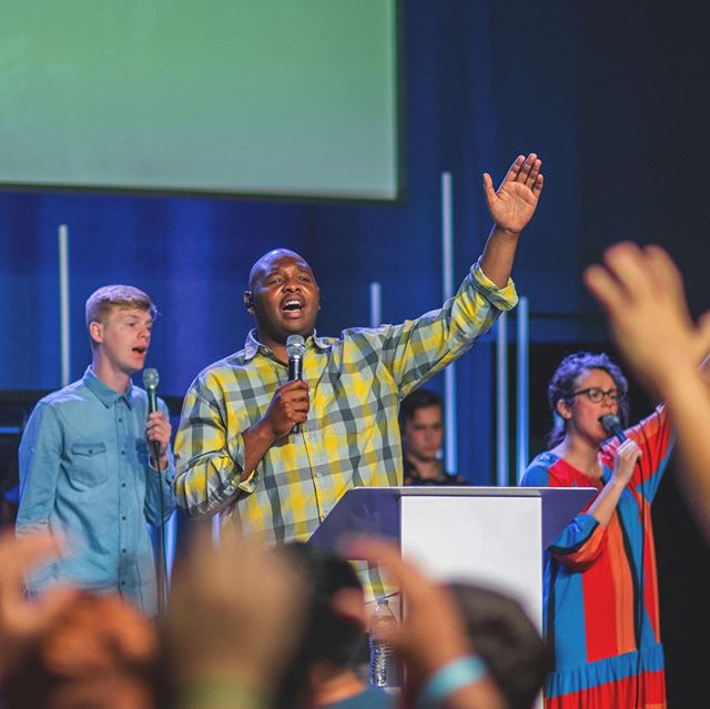 It was an honor to lead worship at @arkansasyouth Senior Camp 2019. We love worshipping with #aryouth and are so thankful for the life changing moves of God that happened this week. - #aryouthworship #aryw #arcamps19 #arkansasyouth