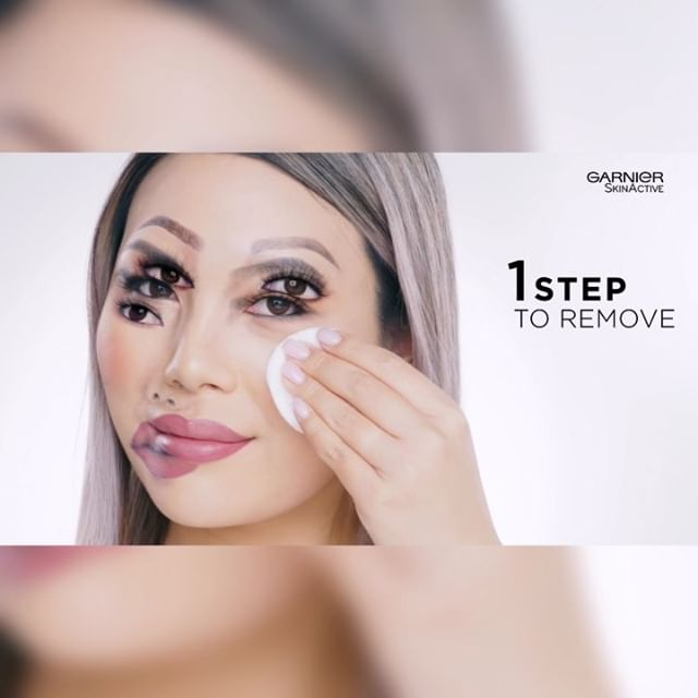 MY @GARNIERCAN MICELLAR WATER AD   Removing my blurry-faced #illusionmakeup using All-in-1 Micellar Water for Waterproof Makeup ✨  Special thanks to @mathgr @rogermedinahair @jeanfrancoiscd @adamvanv @andrewy527 and many others for making this shoot and experience in #Montreal so memorable and fun! 🥰🇨🇦