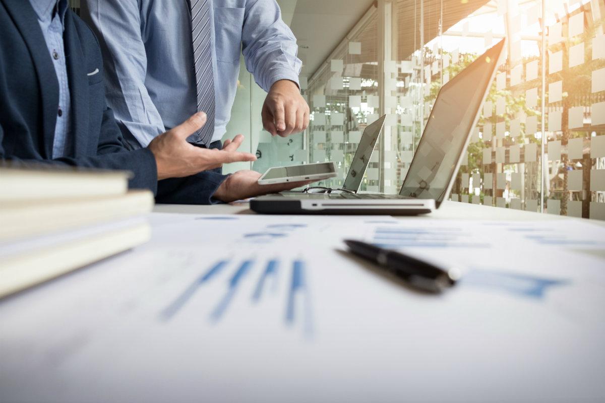 Financial data review