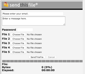 SendThisFile screen shot