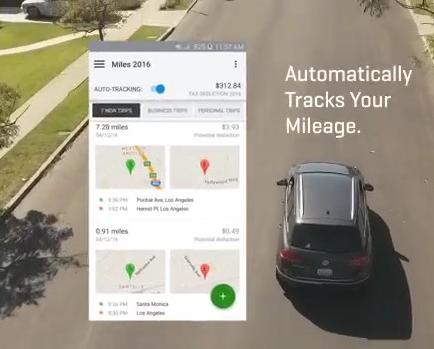 QuickBooks Self-Employed mileage tracker