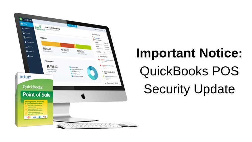 Get your QuickBooks POS security update before June 18, 2019