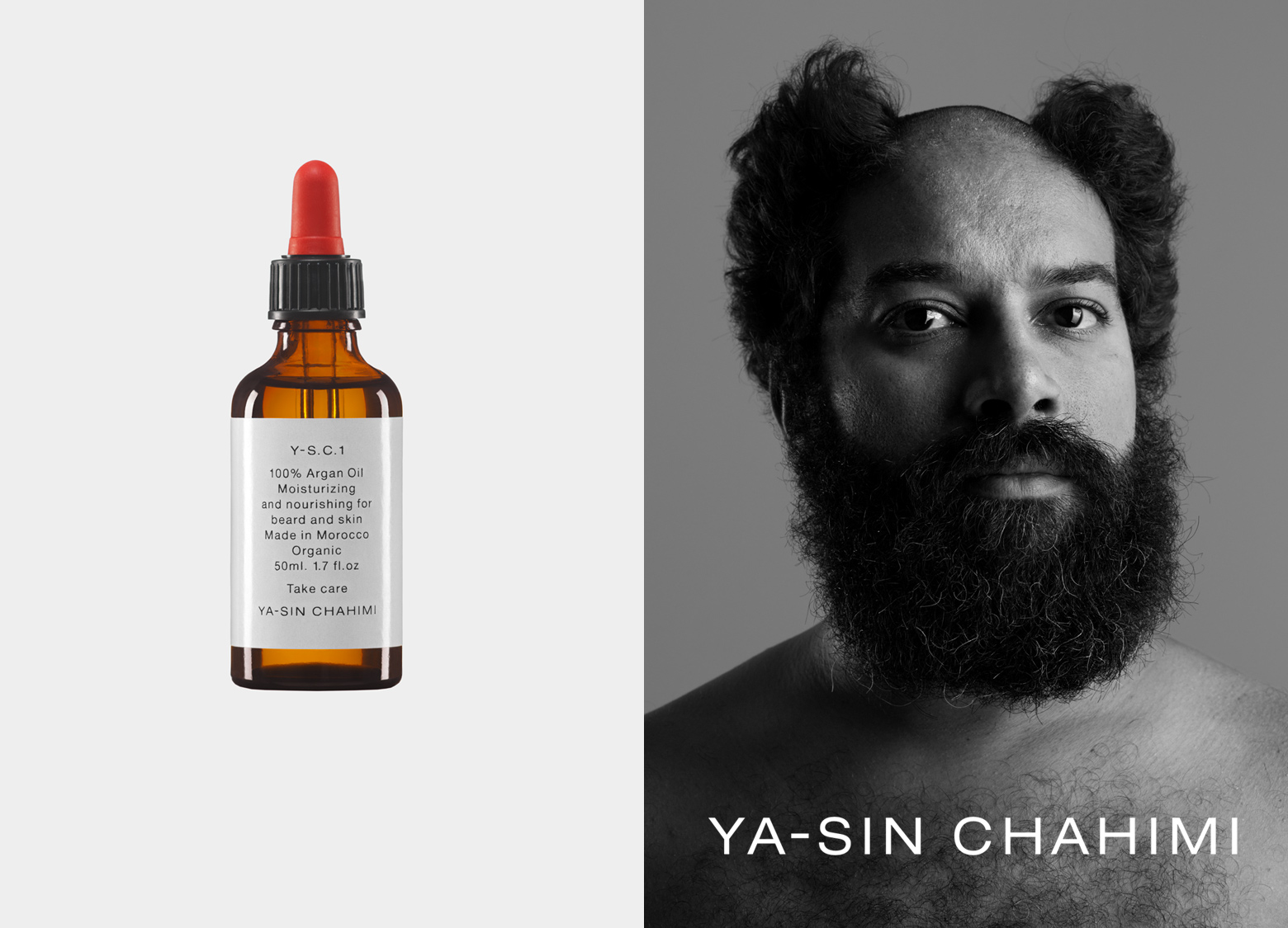 YA-SIN CHAHIMI Branding and packaging design