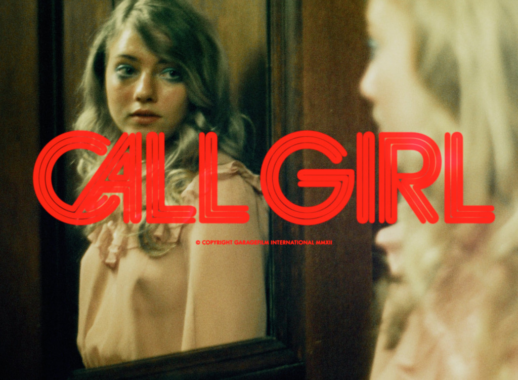CALL GIRL Title design for Mikael Marcimain's feature film