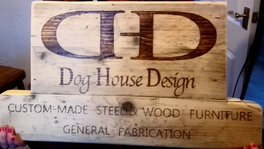 - Dog House Design furniture can be made for any type of environment, both residential, commercial and outdoors. We welcome any size or type of commission, there is none too small, too large or too challenging for Dog House Design's capabilities.