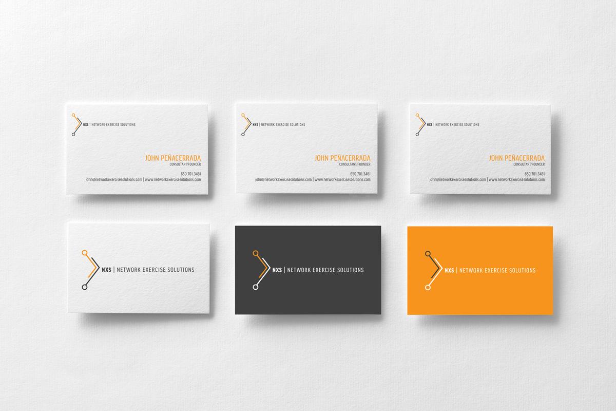 NXS Business Cards by Mark Penacerrada via www.NVSBLAB.com