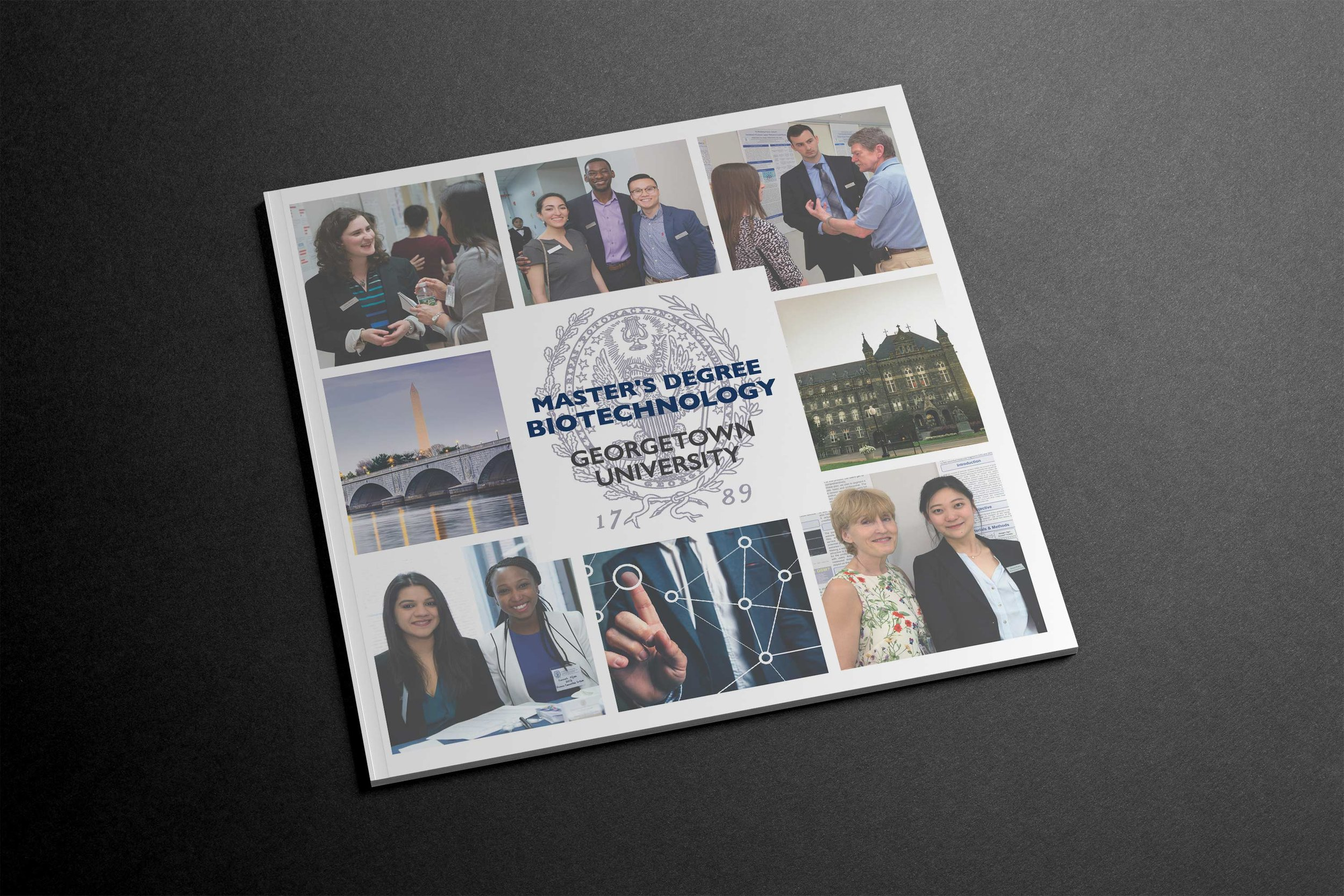 Georgetown University Graphic Design work By Mark Penacerrada