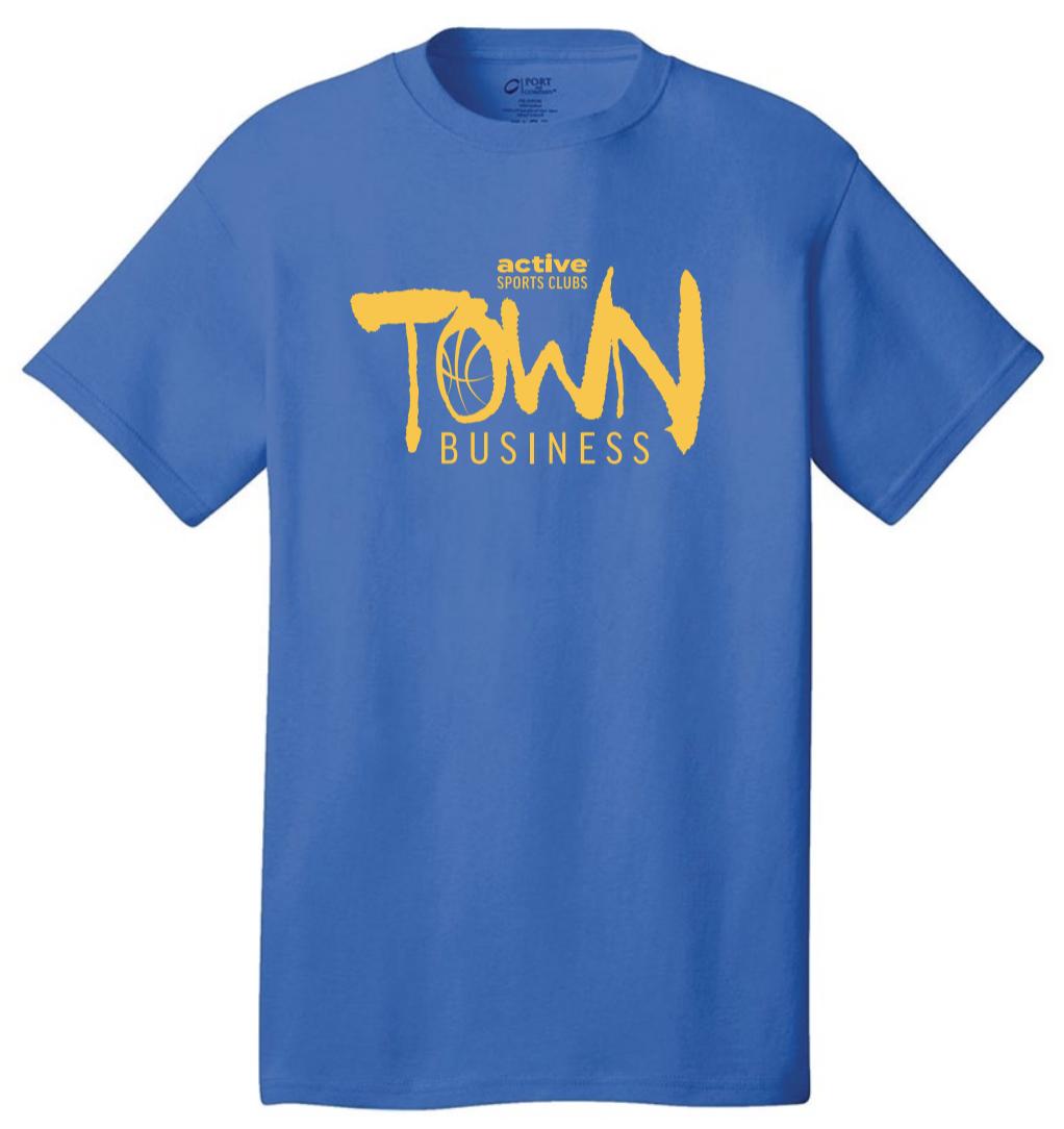 Active Wellness Town Business - Shirt Artwork by Mark Penacerrada