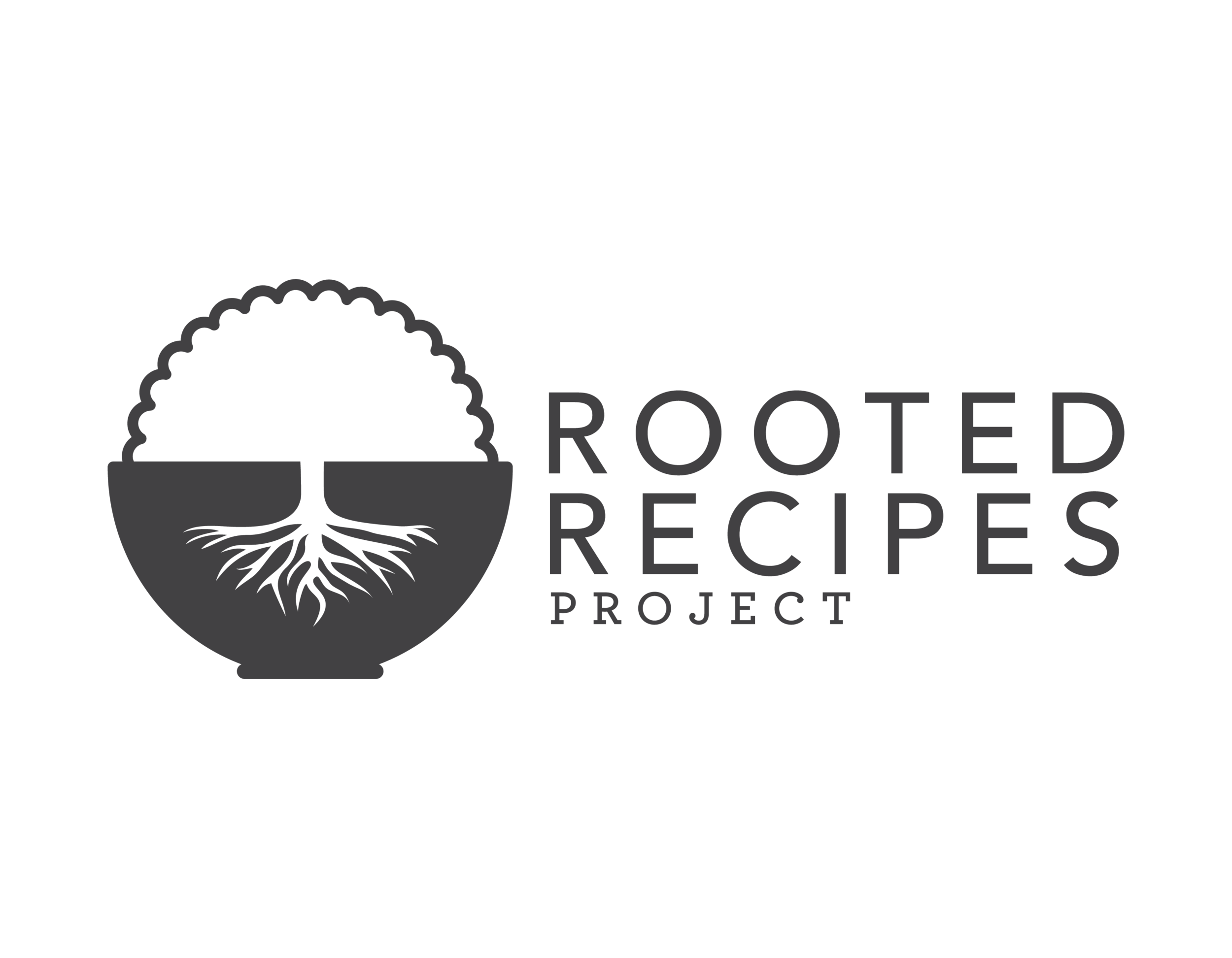 Rooted Recipes Project - Logo Design by Mark Penacerrada