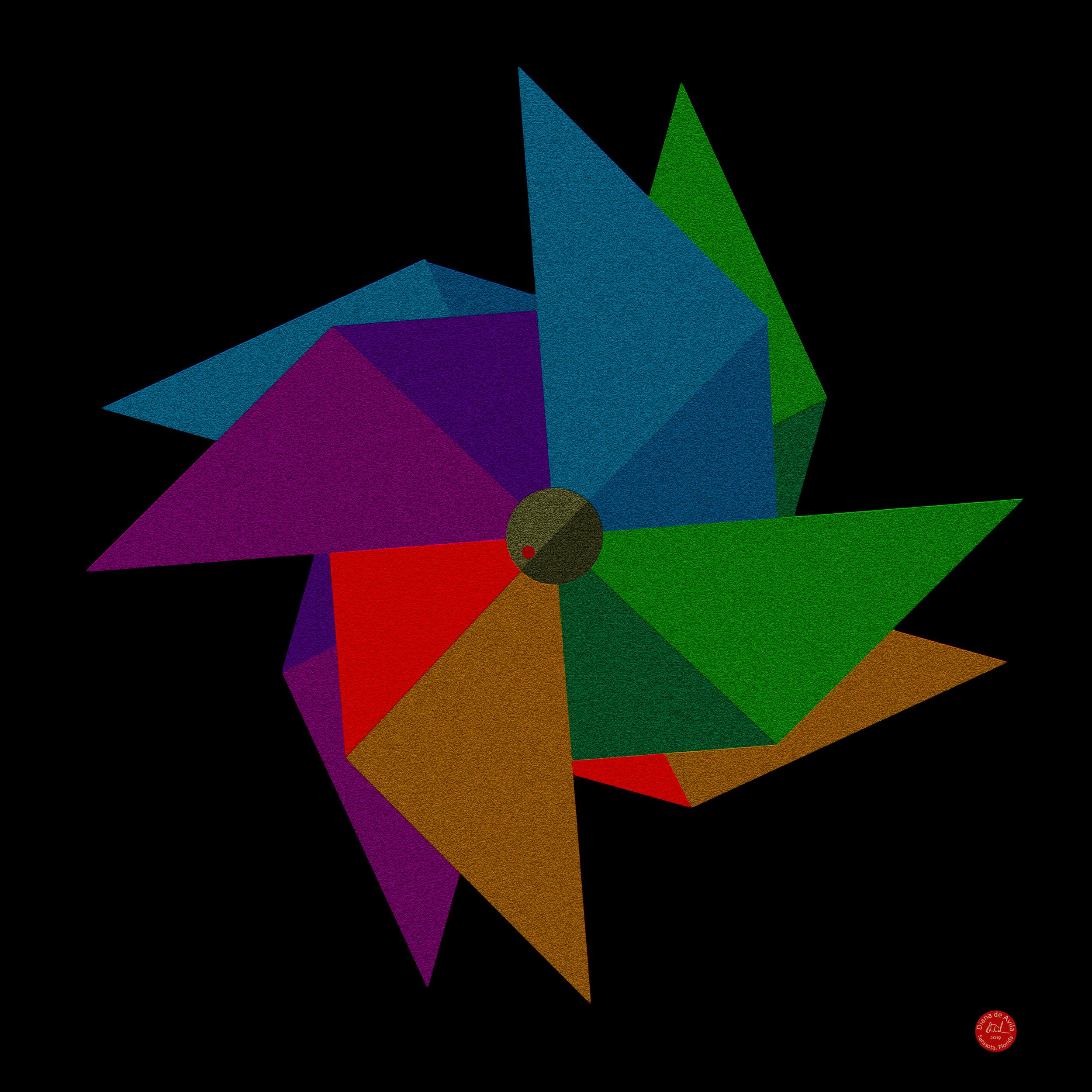 Pinwheel Triangles