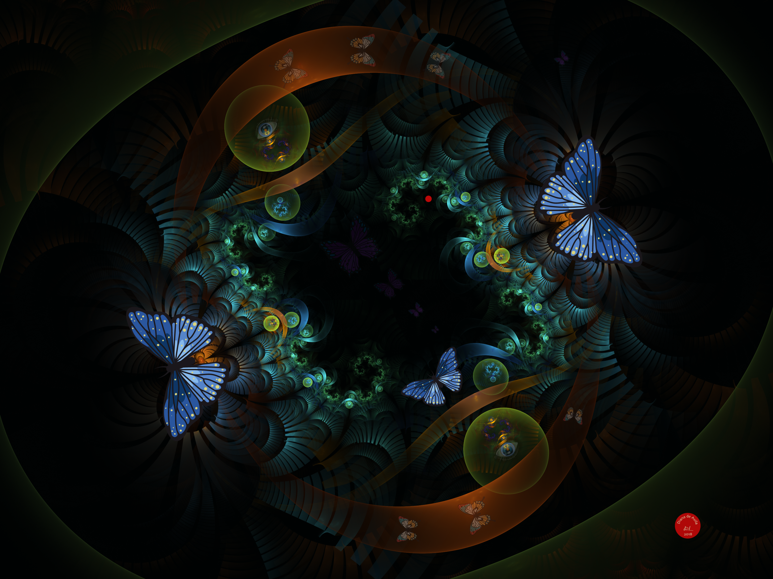 """Butterfly Exodus"" in the MSAA 2019 Art Ability Showcase"