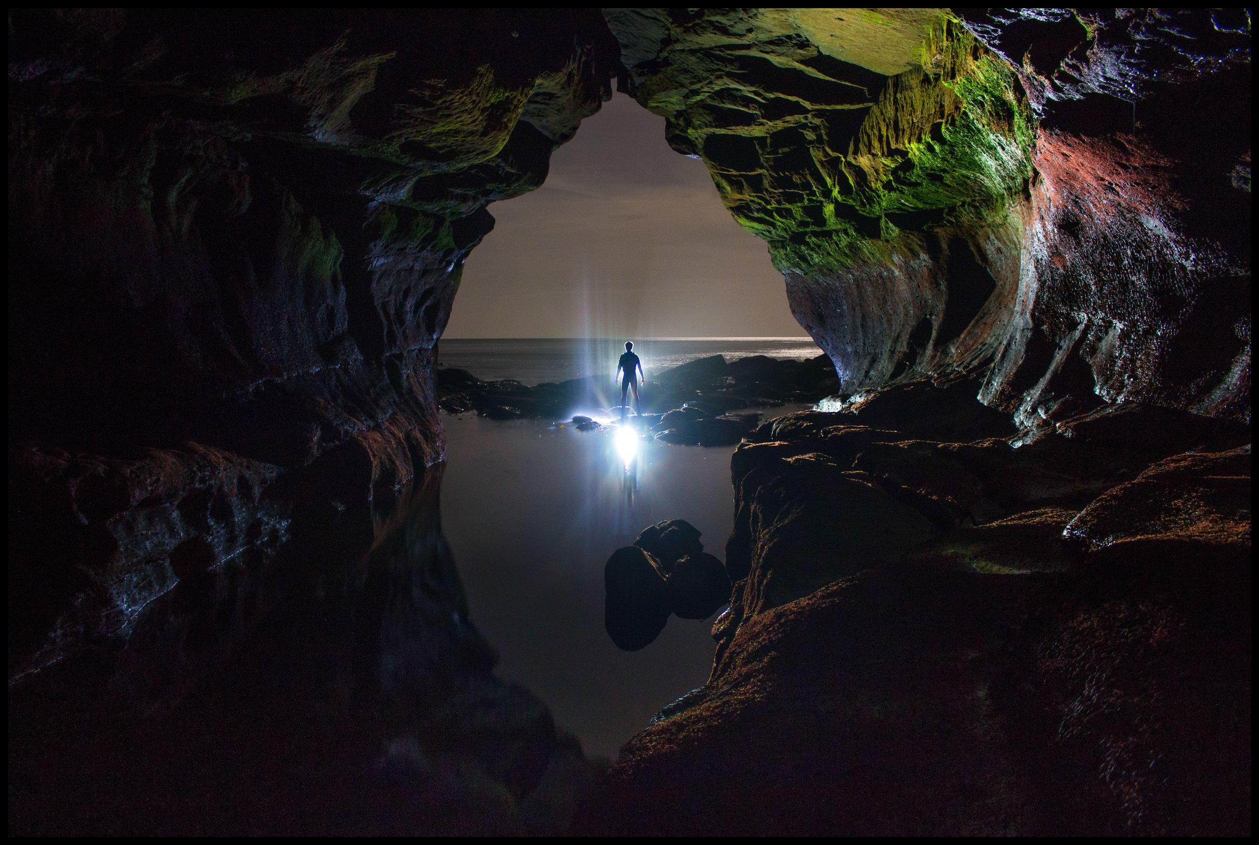Sea cave, Berwick-upon-Tweed